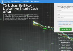 Koinim-比特币交易平台