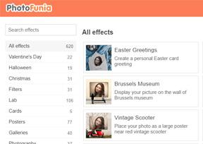 PhotoFunia-在线趣味图片制作工具