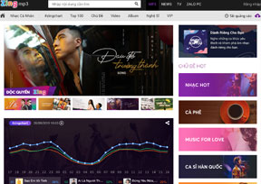 mp3.zing.vn-越南音乐门户网