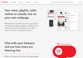 MixLr-在线音乐广播平台